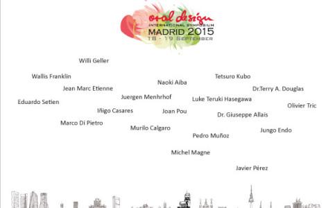 Simposio Internazionale Oral Design Madrid 2015 – 18/19 settembre